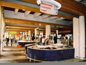 Lagos Fisch-Markthalle